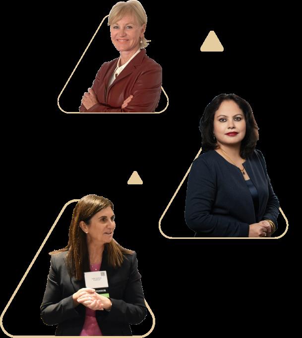 top women leaders